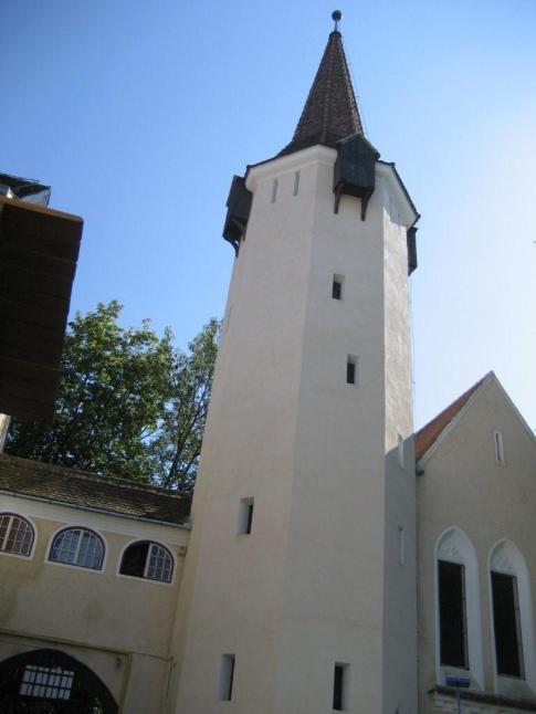 Prayer Tower in Sibiu,Romania