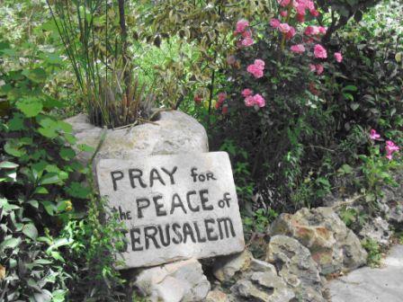 Pray for the peace ofJerusalem