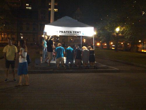 prayer-tent